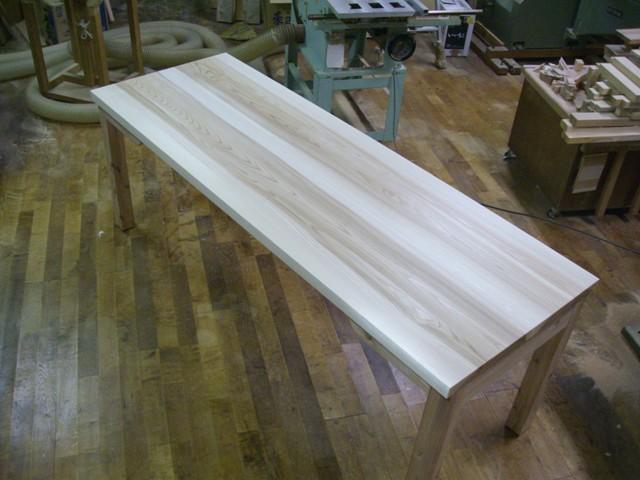 杉のテーブル 完成_f0206159_20472651.jpg