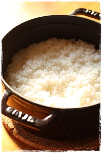 ストウブ炊飯 白米の炊き方_b0165178_951177.jpg