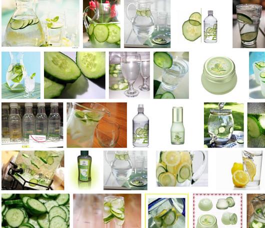 アメリカでは定番の夏の飲み物、きゅうり水?!_b0007805_811423.jpg