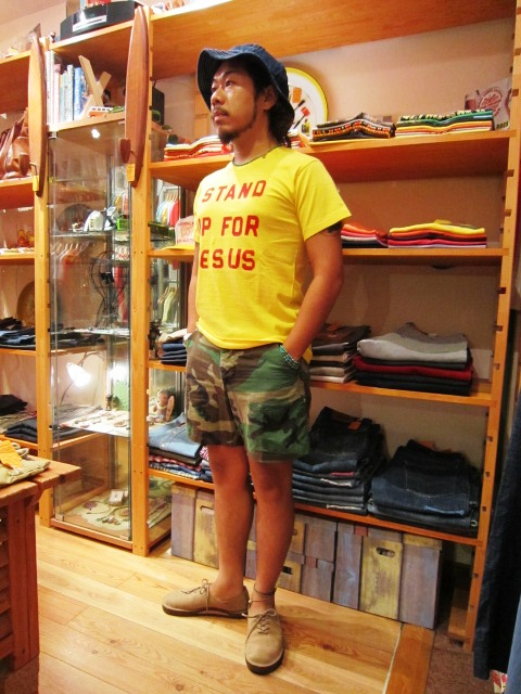 "\""melple\"" 新色追加アイテム & \""JACKSON MATISSE JESUS TEE\"" 入荷!_f0191324_9204918.jpg"