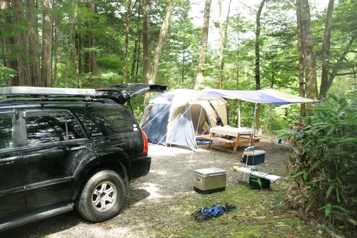 """キャンプ2011 再びあの""""森""""へ・・・『自然に囲まれて』_c0120834_1128980.jpg"""
