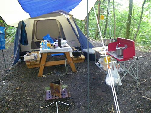 """キャンプ2011 再びあの""""森""""へ・・・『自然に囲まれて』_c0120834_11325167.jpg"""