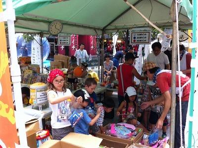 MOTTAINAIフリーマーケット開催報告@秋葉原UDX夏祭り_e0105047_1221172.jpg