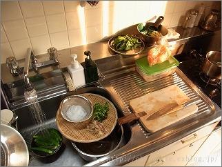 【 調理前にはまず台所のリセットを 】_c0199166_12195292.jpg