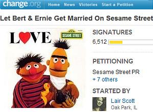 セサミストリートのバートとアーニーに同性婚の話題?!_b0007805_13255678.jpg