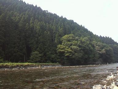 続・大人の夏休み 朽木村で川遊び_f0042307_1232062.jpg