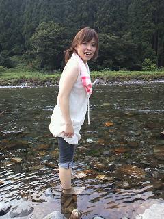 続・大人の夏休み 朽木村で川遊び_f0042307_1233937.jpg