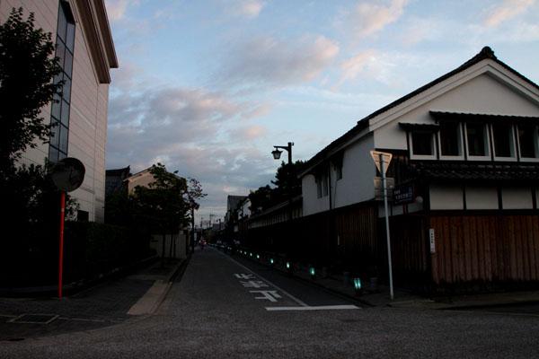夏景色3 伏見酒蔵の町 ライトアップ_e0048413_19474555.jpg