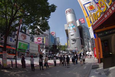 8月12日(金)今日の渋谷109前交差点_b0056983_14445354.jpg