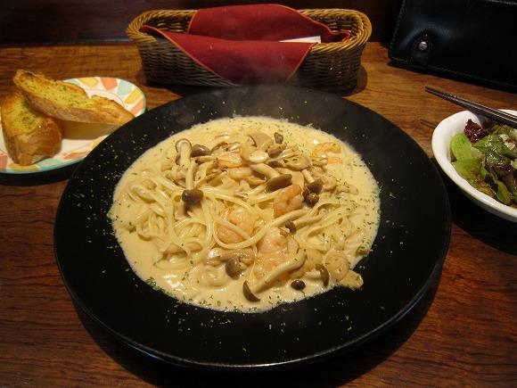 Cafe de 10番 久太郎店 / お得なパスタセット_e0209787_14574695.jpg