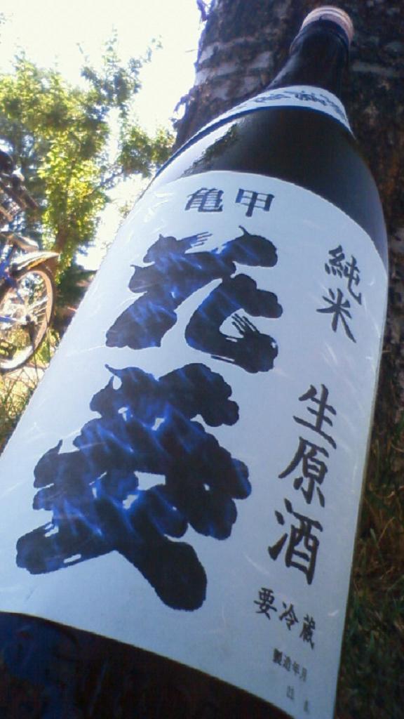 【日本酒】 亀甲花菱 中取り 純米 無濾過生原酒 美山錦_e0173738_10332227.jpg