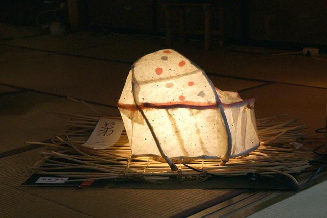 白石和紙あかり展示会_b0223668_6273218.jpg
