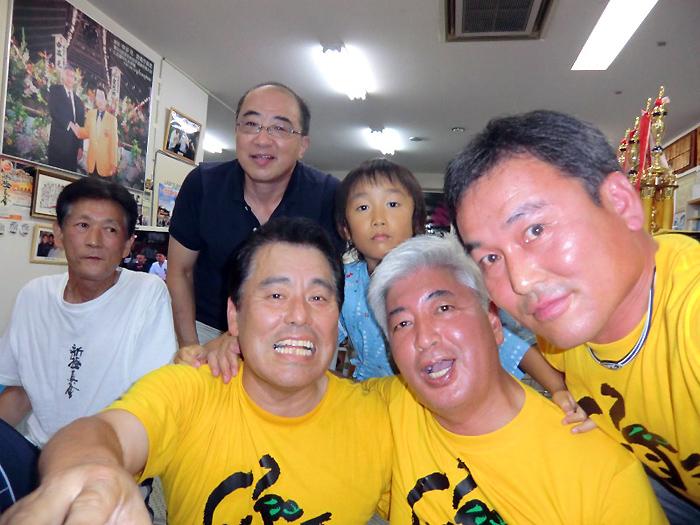 月例「水炊き会」に親友 中谷元衆議院議員も出席_c0186691_14124544.jpg