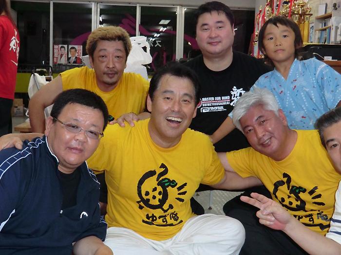 月例「水炊き会」に親友 中谷元衆議院議員も出席_c0186691_14125120.jpg