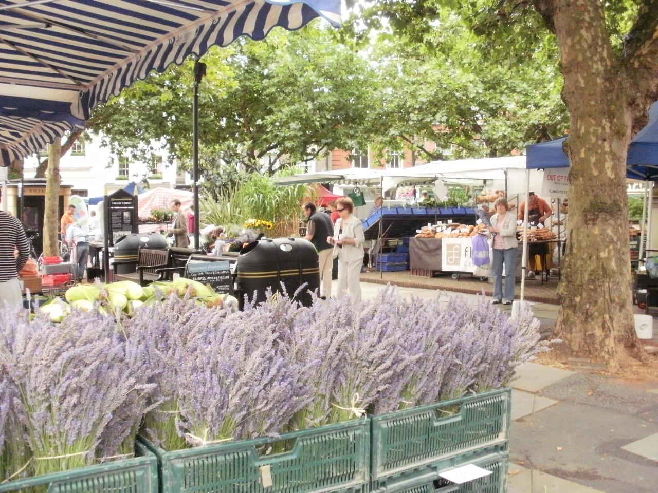 ロンドンでもマーケットに行ってみた♪_f0095325_19524565.jpg
