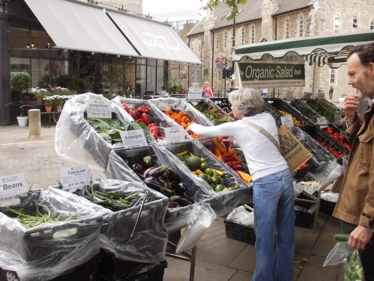 ロンドンでもマーケットに行ってみた♪_f0095325_19532469.jpg