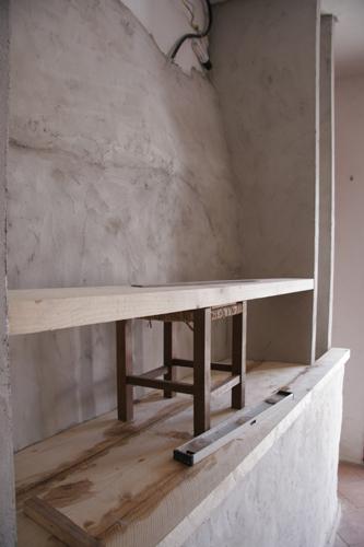 キッチンの棚~途中報告_f0106597_0564140.jpg