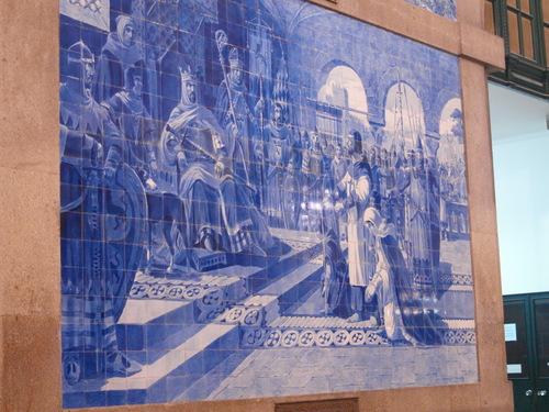 ポルトガル紀行ーーーポルトサンベント駅_c0179785_21414259.jpg