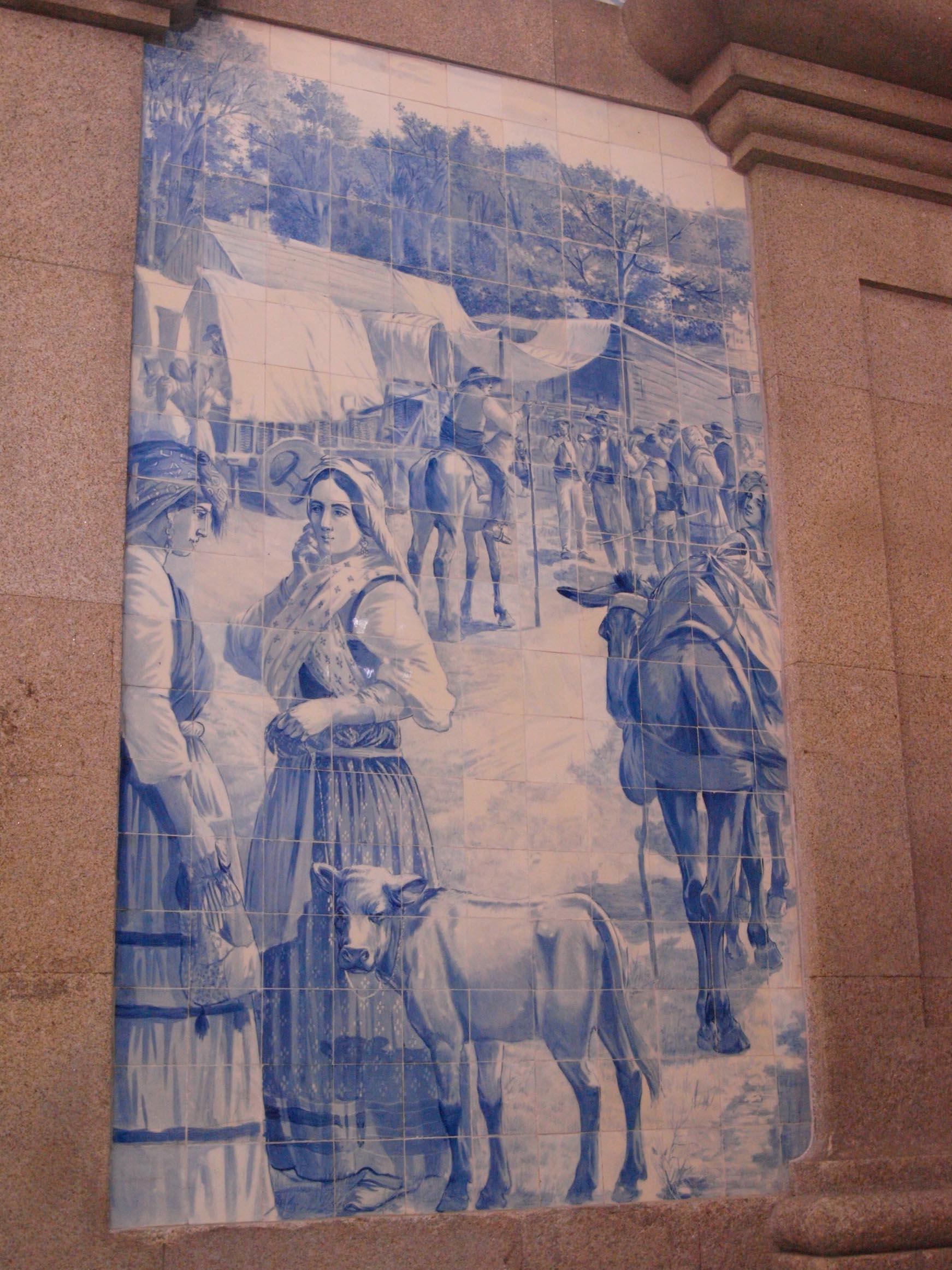 ポルトガル紀行ーーーポルトサンベント駅_c0179785_21442532.jpg