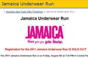 夏のニューヨーク恒例の下着マラソン大会、Jamaica Underwear Run_b0007805_22494537.jpg