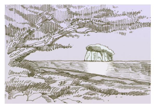 見附島=軍艦島_f0083935_18131612.jpg