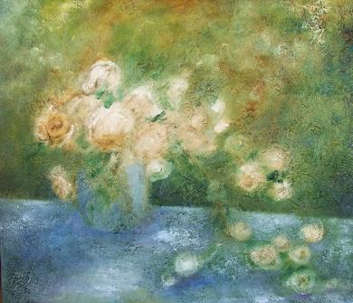 薔薇の油絵 10号_b0089338_222022100.jpg