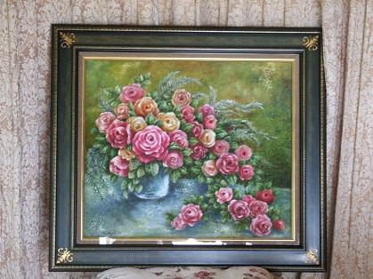 薔薇の油絵 10号_b0089338_2221172.jpg