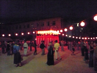 京都五山送り火 京都の盆踊り_e0230141_1654481.jpg