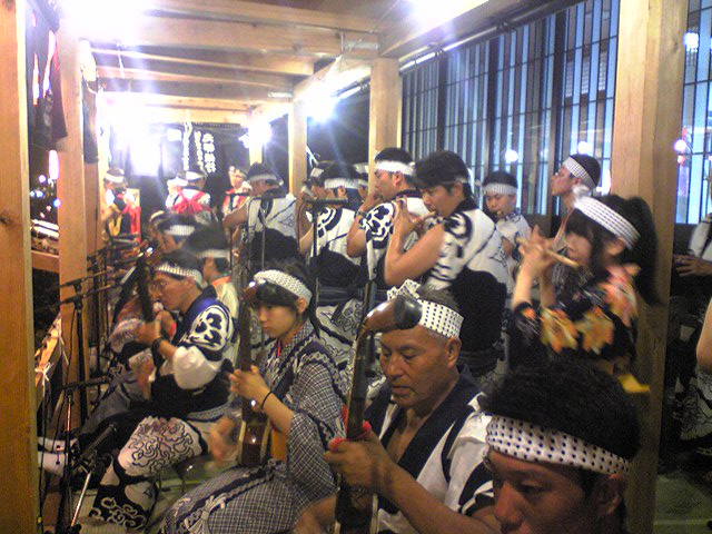 西馬音内盆踊り_f0081443_11591995.jpg