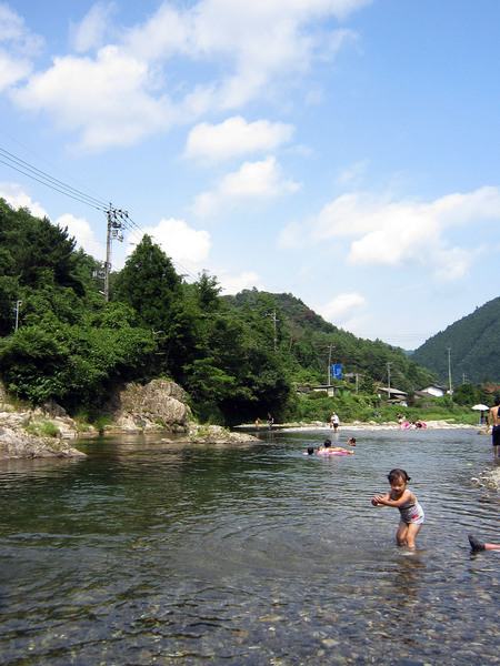 川遊び_a0212380_11444939.jpg