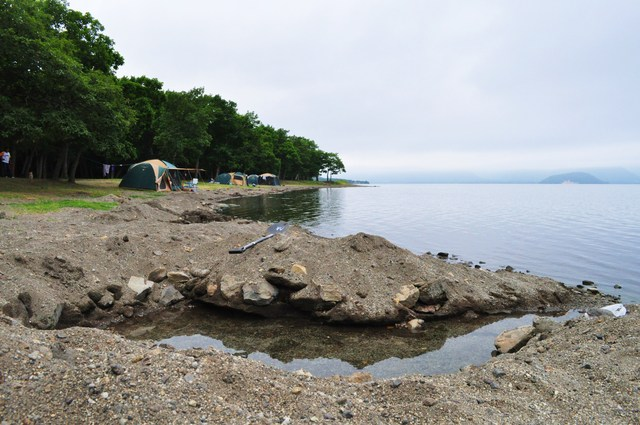 北海道キャンプ⑩ 屈斜路湖での恐怖の思い出_a0126590_1727789.jpg