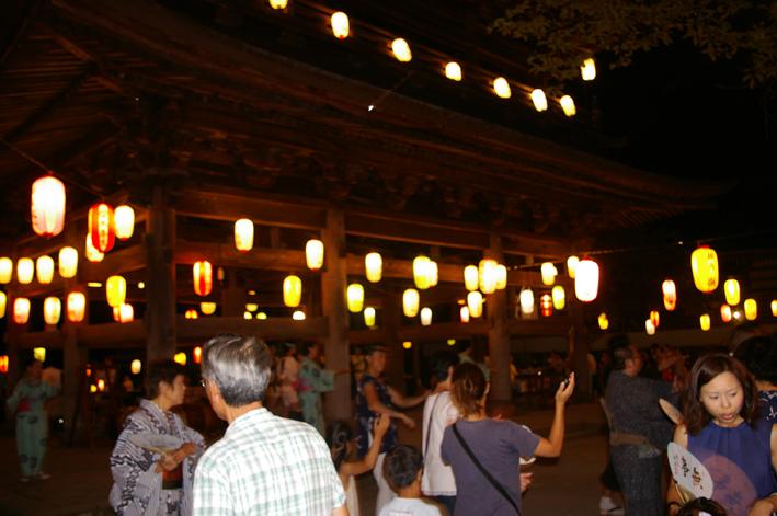 暑さ吹き飛ばす心地よい太鼓の響き:「円覚寺盆踊り大会」_c0014967_17352086.jpg