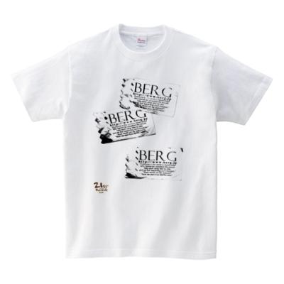【ベルクオリジナルTシャツ】 人気の紙ナプキン柄と21stレコードデザイン♪_c0069047_0435091.jpg
