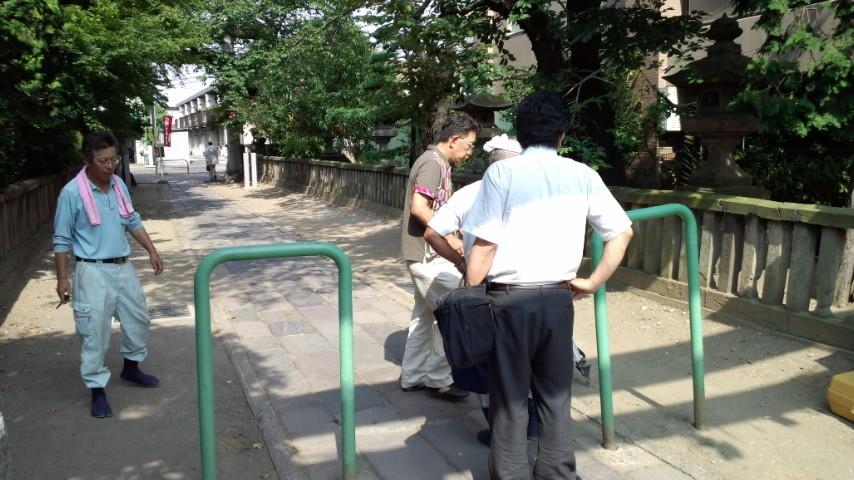松戸神社様 参道改修工事  2011.8.18_e0223769_20155779.jpg