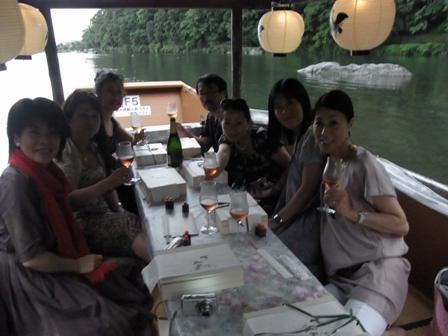 船あそび 京都嵐山の鵜飼を楽しむ_a0138976_20551518.jpg