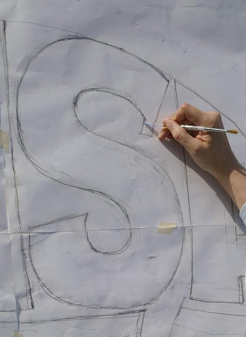 壁文字カキマシタ。_d0209085_1985153.jpg