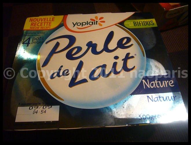 【ヨーグルト】まだまだ続く、ウチのPerle de Laitブーム(PARIS)_a0014299_17562182.jpg