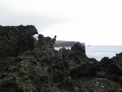沖縄 離島遠征 磯からGTを狙う!!(その2)_a0153216_12313380.jpg