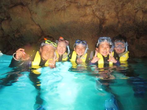 8月20日青の洞窟攻めに水中洞窟♪_c0070933_23444135.jpg