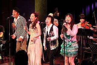 まるたまり、金丸淳一、佐久間レイ、佐々木望による声優ジャズパーティーは遊びまくり!_e0025035_22434245.jpg