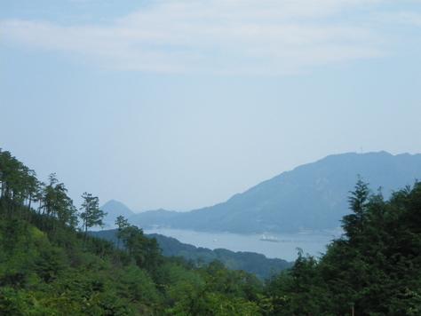 林道を走り、尾鷲市街を山から見下ろしてみる_c0010936_15113095.jpg