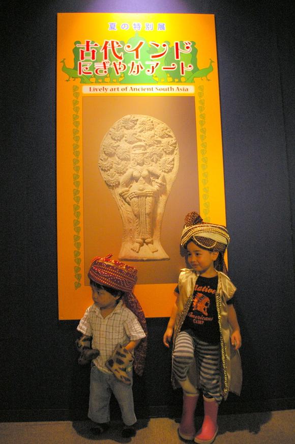 「古代インドにぎやかアート」@古代オリエント博物館/ Museum and amusement @Ikebukuro_a0186568_22355675.jpg