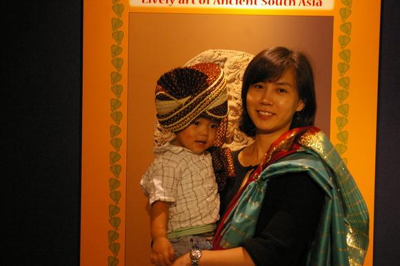「古代インドにぎやかアート」@古代オリエント博物館/ Museum and amusement @Ikebukuro_a0186568_22412975.jpg