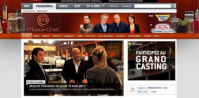 【コンクール】Master Chef 2011スタート(フランス)_a0014299_18395413.jpg