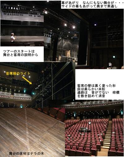 兵庫県立芸術文化センター 中ホールのバックステージツアー前編 _a0084343_1635175.jpg