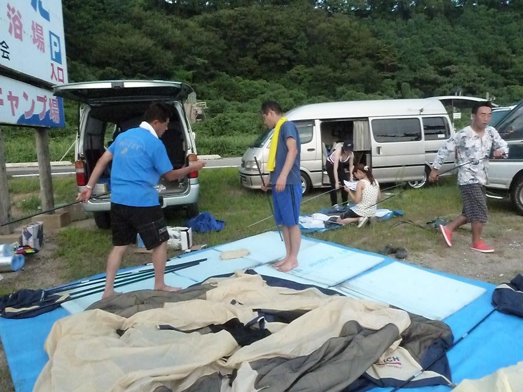 新潟キャンプなり~_e0232150_1465451.jpg