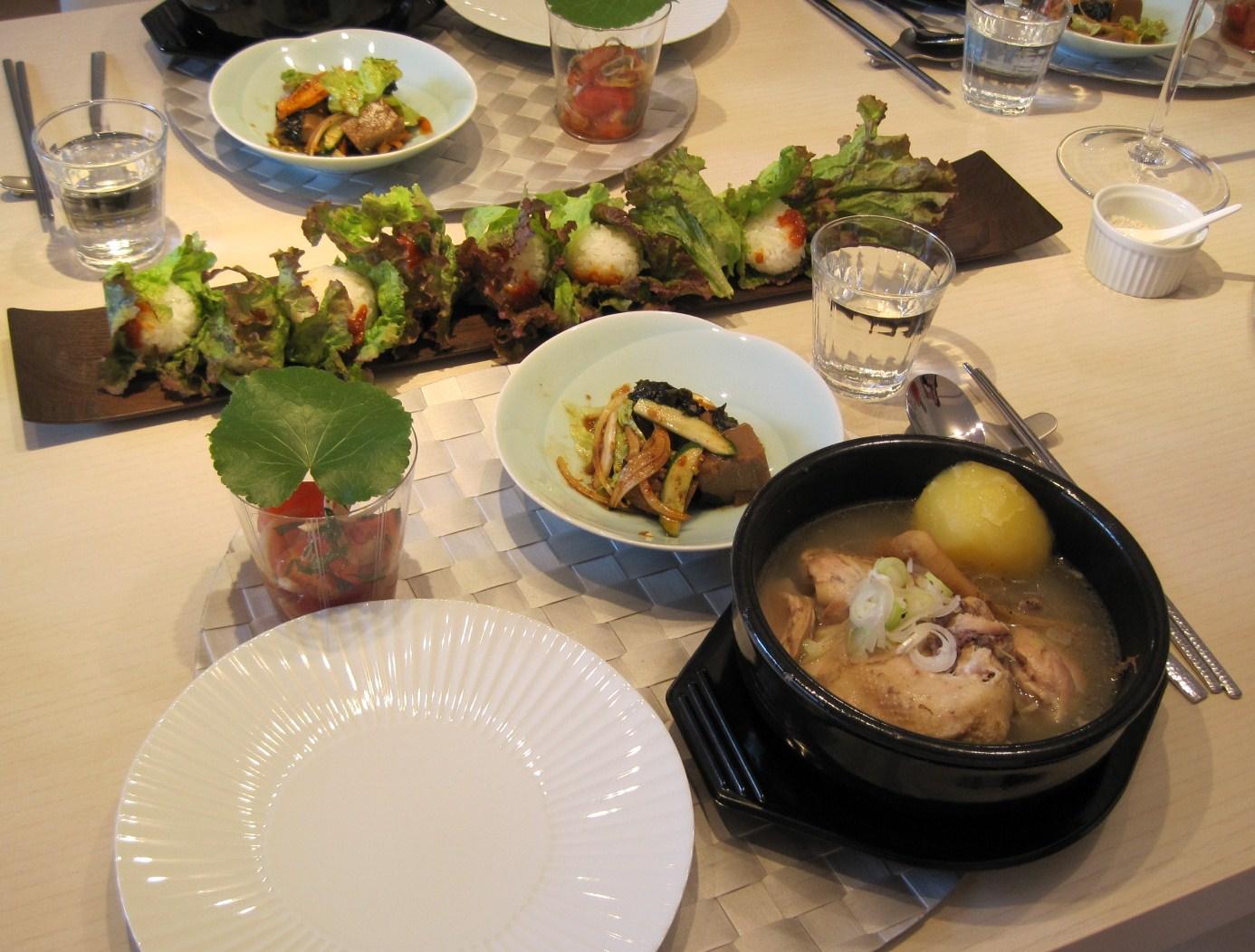 キムチっ子クラブ・我が家の韓国料理教室8月_f0236260_20341435.jpg