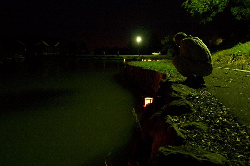 八月二十日夜、鶴沼にて_e0235910_871945.jpg