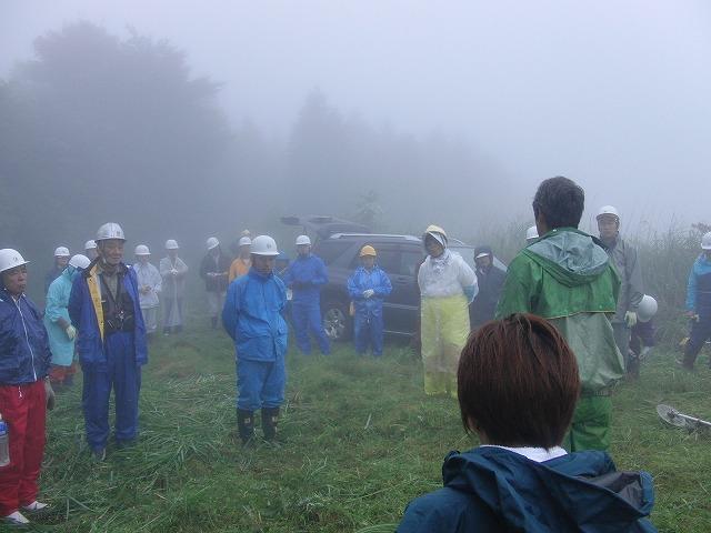 東京から多くの人が参加する富士山国有林の下草刈り_f0141310_7473547.jpg