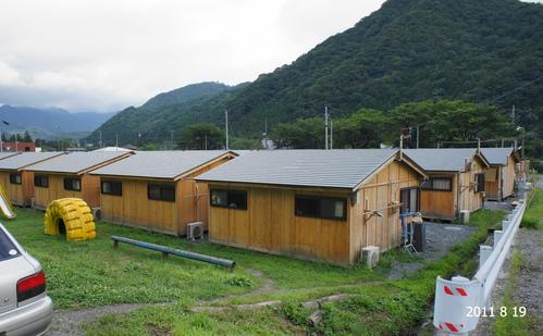 住田町の木造仮設住宅_d0004728_1291327.jpg